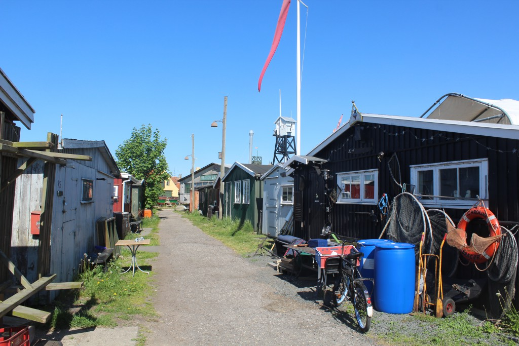 Sheds of wood as niegboru to The Stake Area. Photo 27. may 2016 by erik K Abrahamsen.