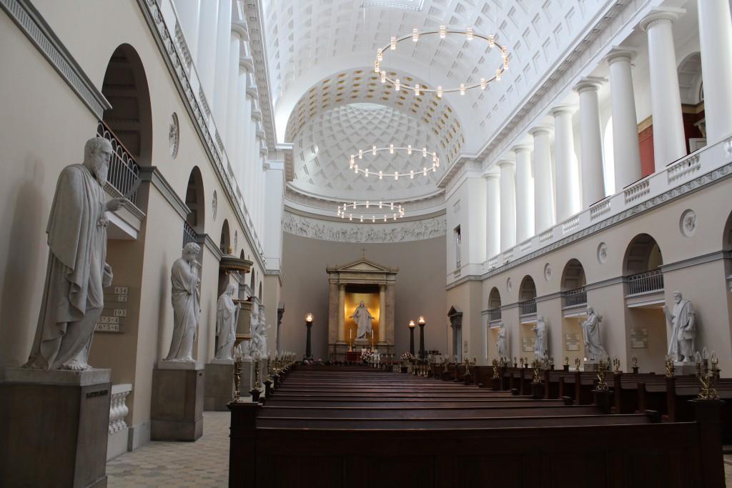 """Main Cathedral of Copenhagen """"Vor Frue Kirke"""". Built 1811-28"""