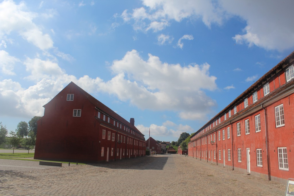Fortress kastellet built 1424-65. View to barracks. Photo