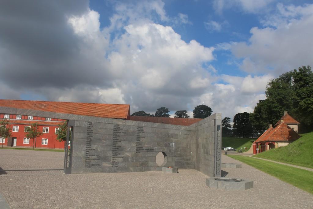 Memorial of danish international missions since 1948. Pho