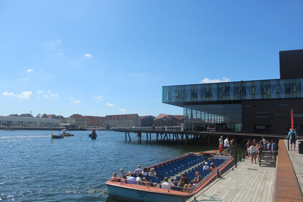 View from Ofelia Place at Quay Kvæsthusbroen in direction west. Phot
