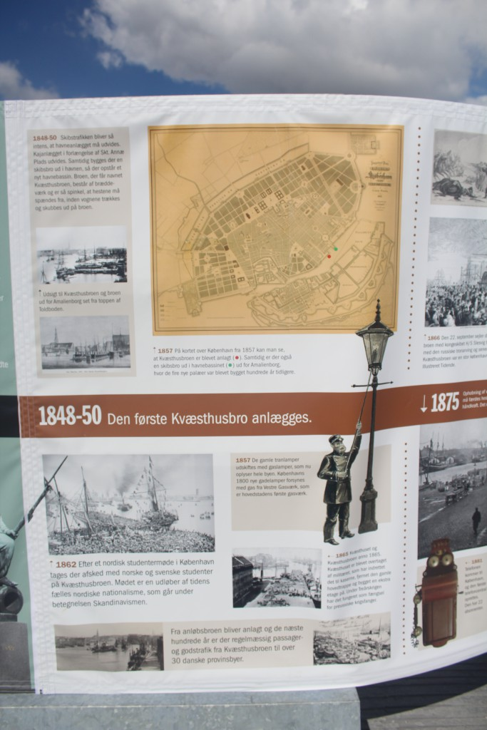 Plates of history of Qoay Kvæsthusbroen 1600-19