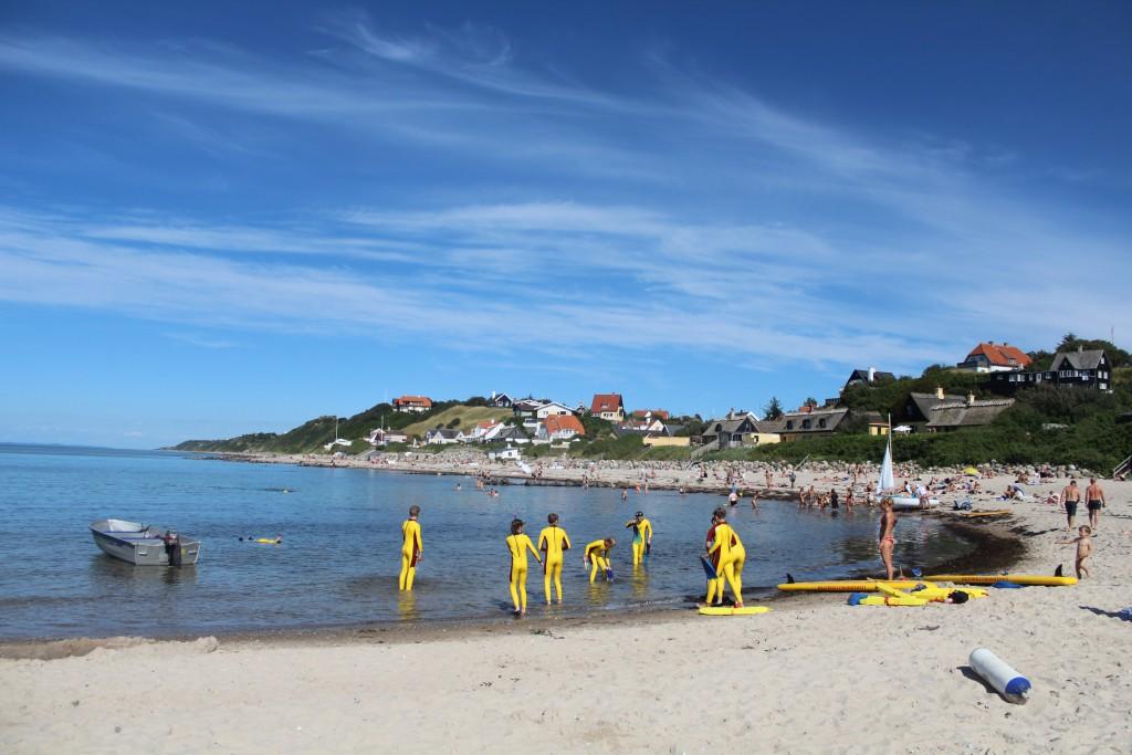 Ocean Rescue Camp Bais. Begynderundervisnig i Kattegat ved Livredderpost vest