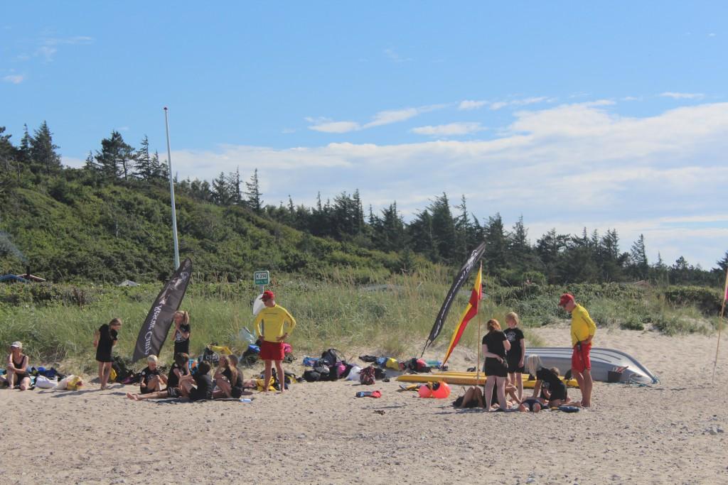 Ocean Rescue Camp Basis. Begynderundervisnign i Førstehjælp og Hjerte-lunge massage