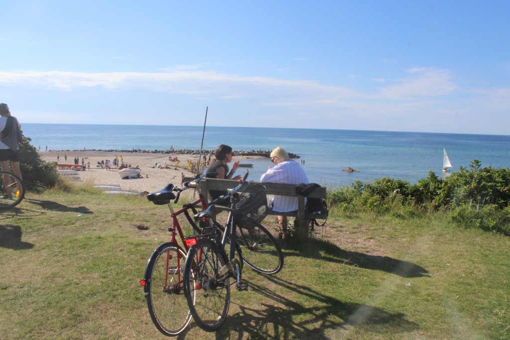 Tisvildeleje Strand. Udsigt ud over Kattegat torsdag den 21. juli kl. ca. 15. Foto i tretning nord den 21. juli 2016 af Erik K Abraham,sen,