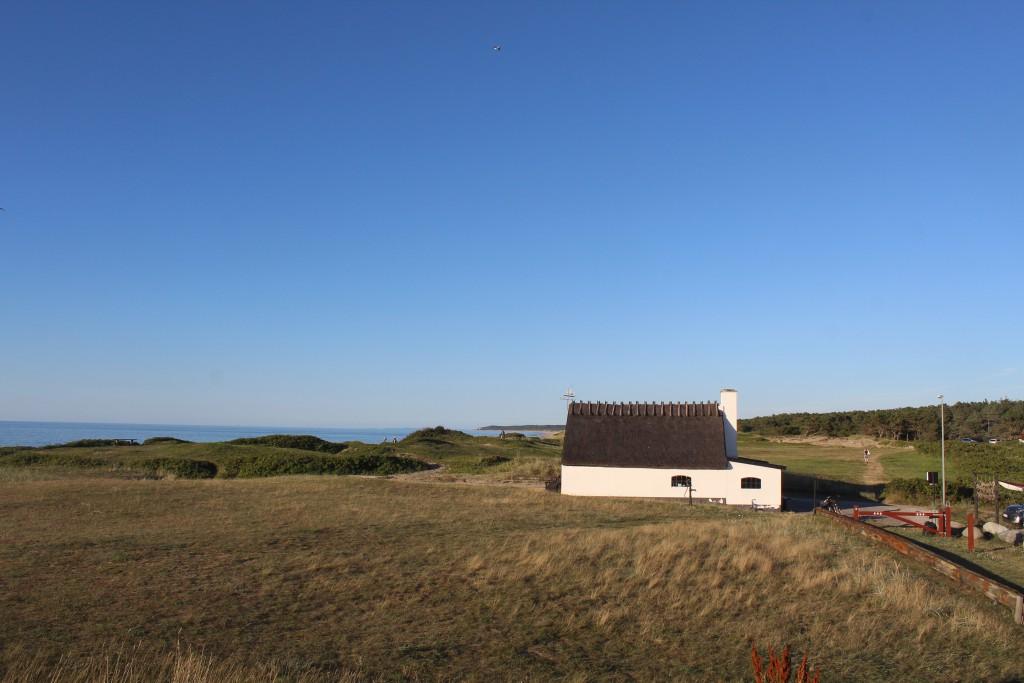 Liseleje beach - The Ice House built 1901 to