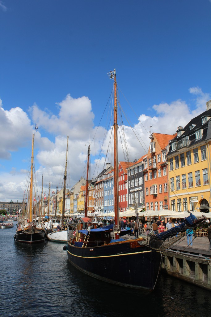 View in direction mort to Nyhavn built 1671-73 and Kon