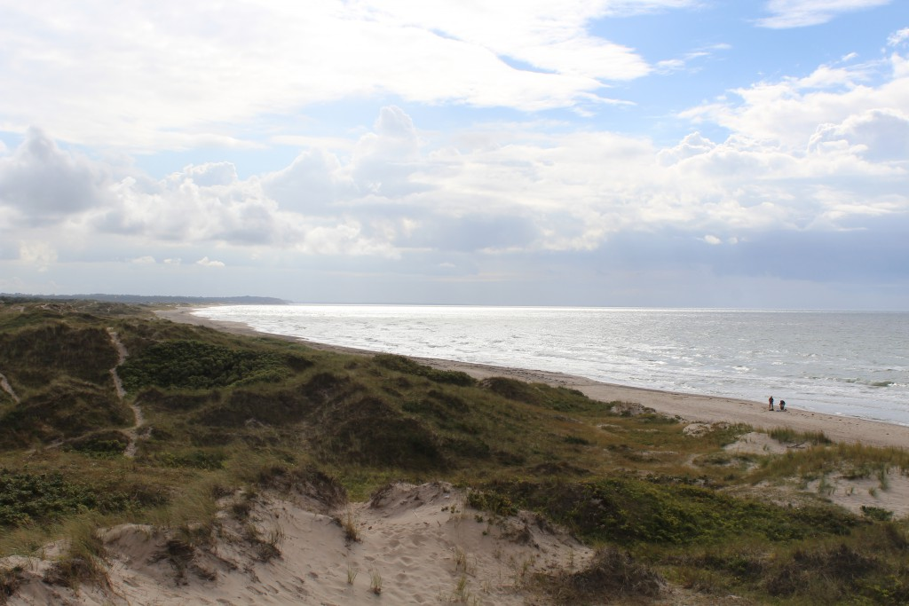 Tisvilde hegn at Kattegat Coast. Photo in direction to Jyde beach
