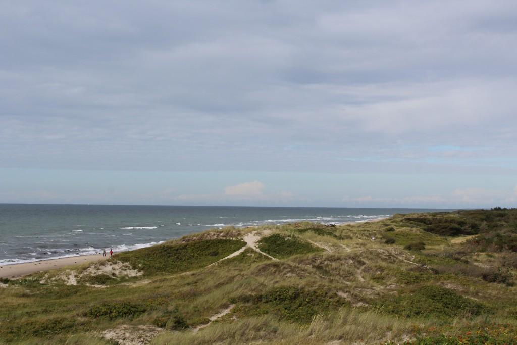 Tisvilde hegn, Troldeskovens beach. View in direction east to Kattegat Sea. Photo 4 PM 14 august 2016 by Erik K Abrahamsen