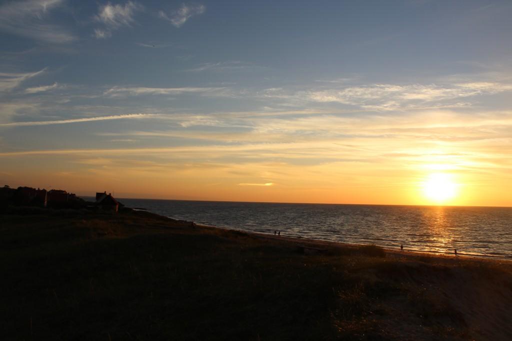 Tisvilde Beach. View in direction north/west to Kattegat Sea. Photo