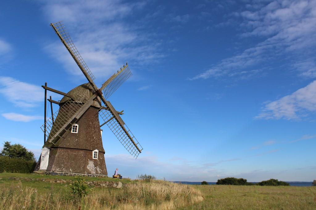 The Mill in Rørvig built 1846. ViePhoto 17. august 2016 by Erik K Abrahamsen