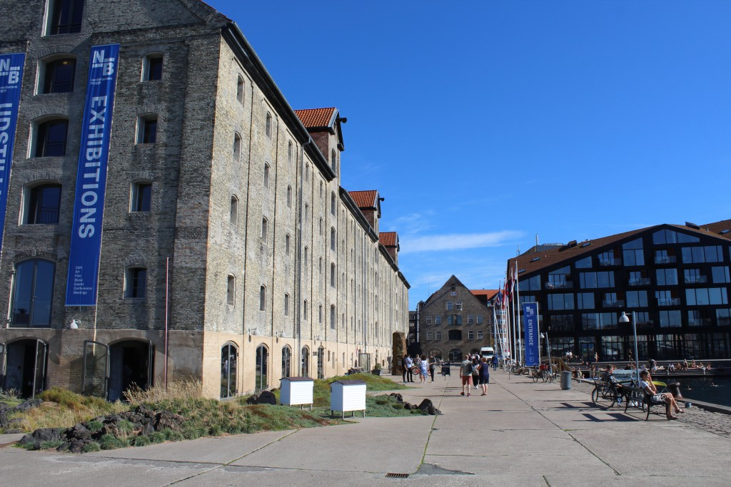 Christianshavn on north side of Copenhagen Inner harbour - Greenland Store House built 1766-67