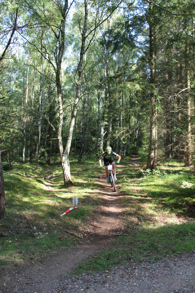 NotCup Finalen 2016Tisvilde hegn. Phoot in direction east to path crossing Skovkærsvej 10