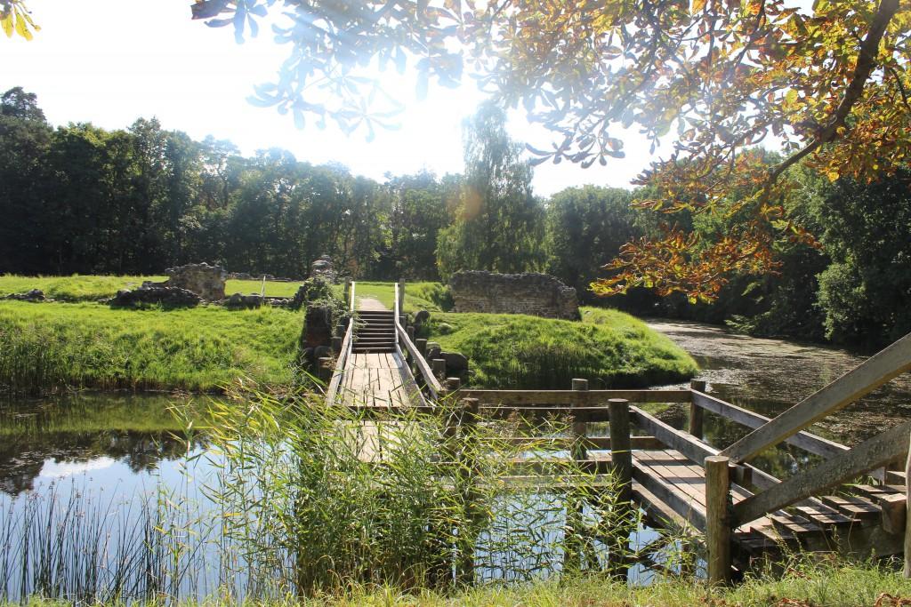 Absalons Slotsruin bygget i 12-tallet først som kloster og senere som f