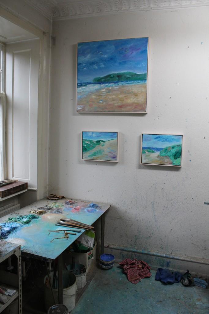 Per Baagøe´s atelier i København. Foto den 16. november 2016 af Erik K Abeahamsen.