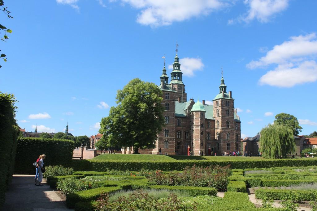 Rosenborg Castle builded by King Christian 4, King of Denmark and Norway (1588-1648)