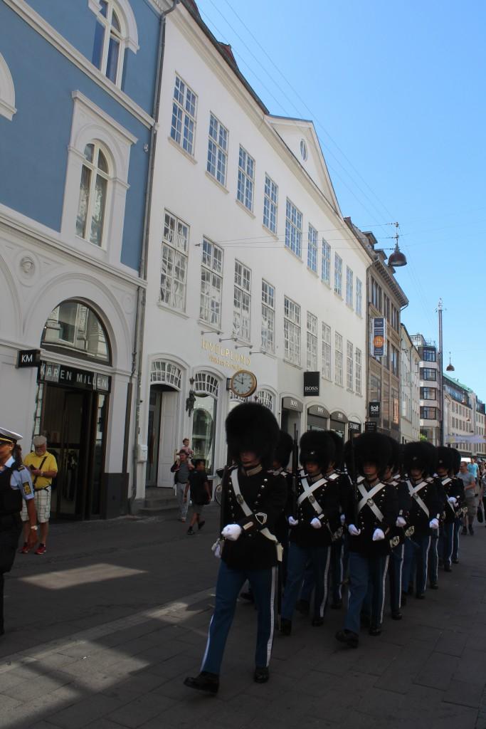 The Royal Gurd in Østerga