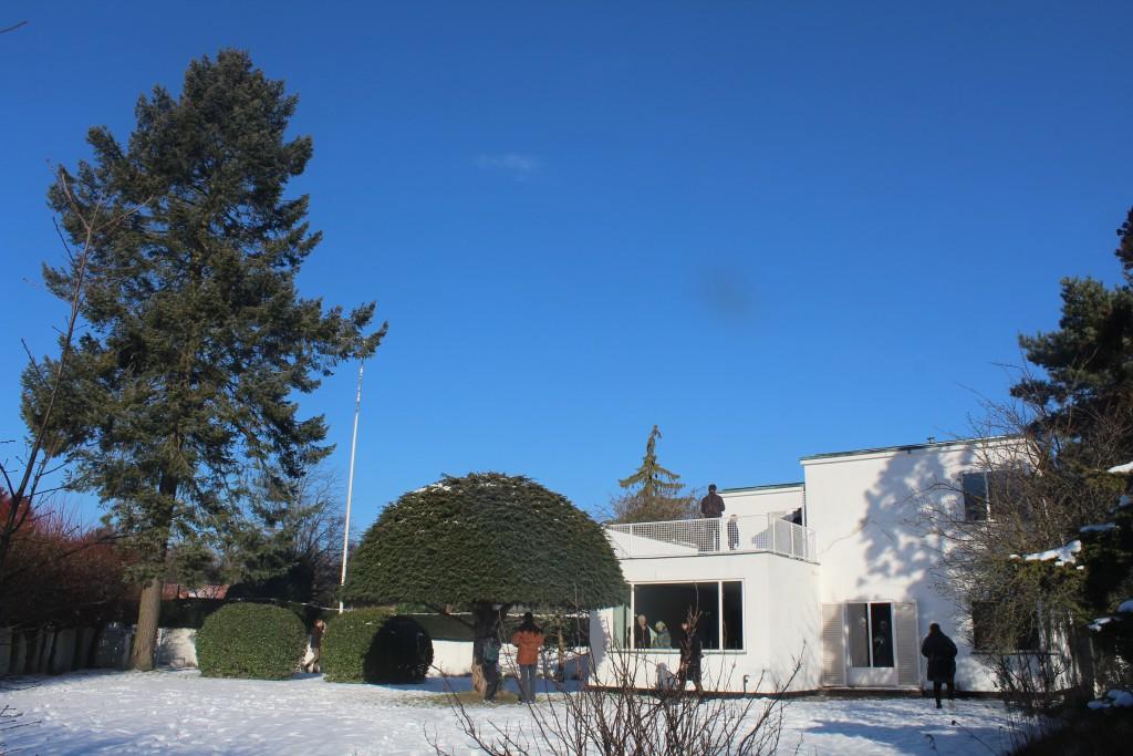 Arne jacobsen private home in Charlottenlaund 1