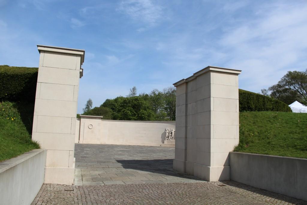 Mindesmærke for faldne danske sønderjyder i tysk tjeneste under 1. Verdenskrig 1914-18. Foto den 18. maj 2017 af Erik K Abrahamsen.