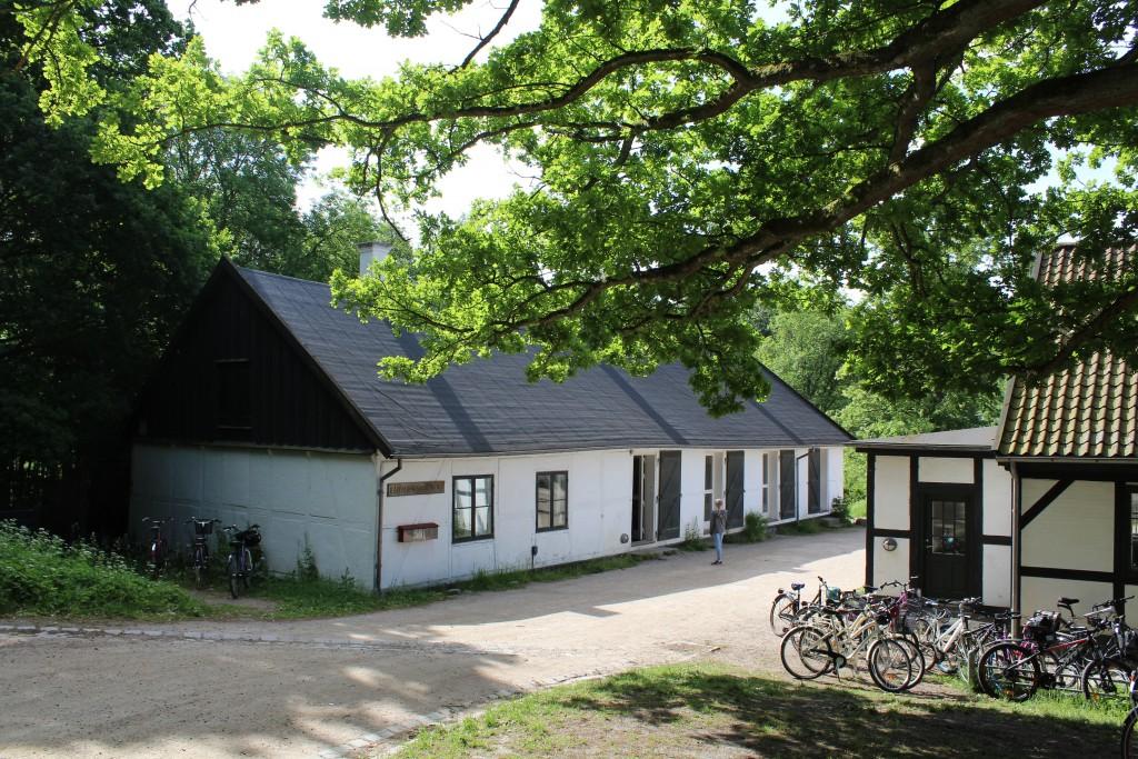 Raadvad Naturskole oprettet i 1989. Foto den