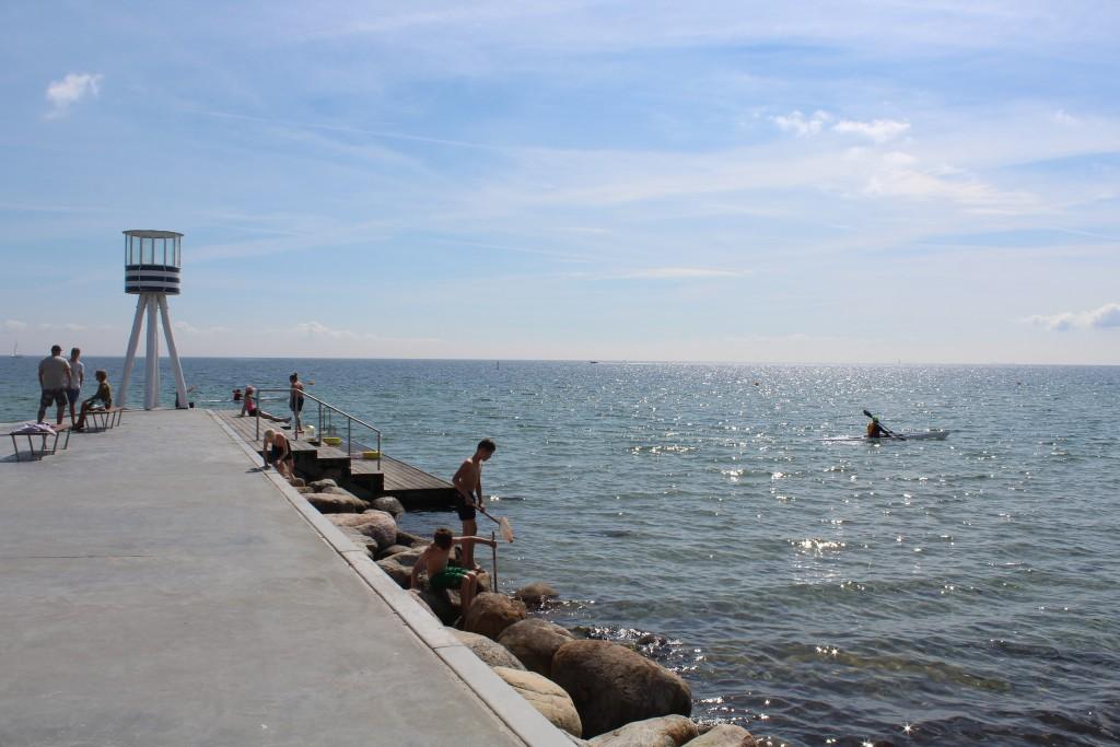 Bellevue Strand, Klampenborg.