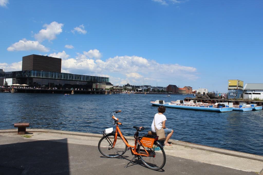 Udsigt fra Christianshavn mod København Indre Havn