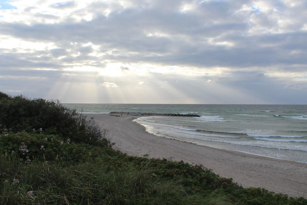 Liseleje Strand ved Kattegats Kyst