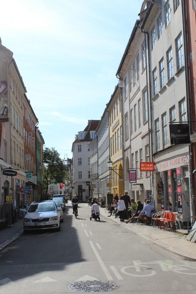 Larsbjørnsstæde in latin Quarter of Middle Age Copenhagen.