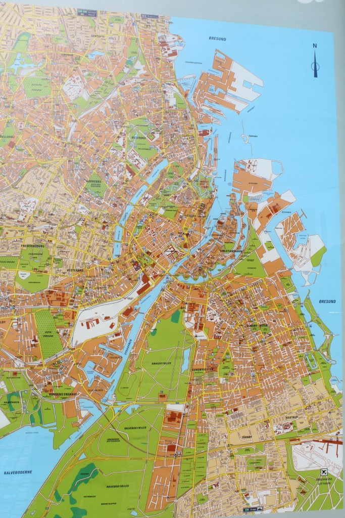 Map go greater Copenhagen. Photo 1016 by Erik K Abrahaamsen