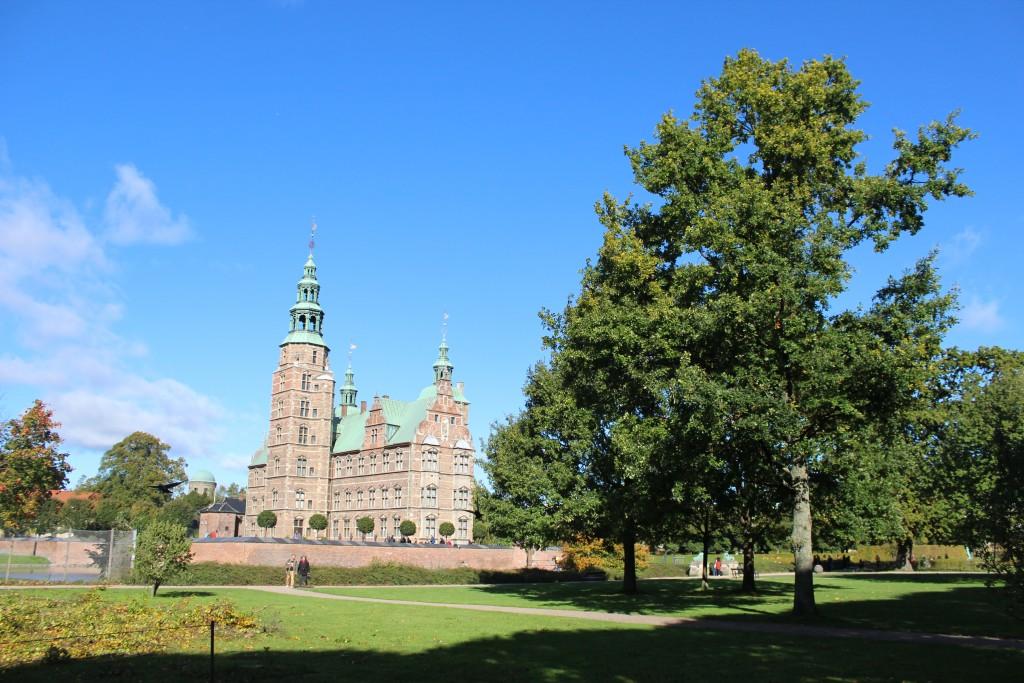 Rosenborg Castle built 2635 by King Christian 4, King of Denmark and Norway 1588-1848. Photo 9. october 2017 by Erik K Abrahamsen.