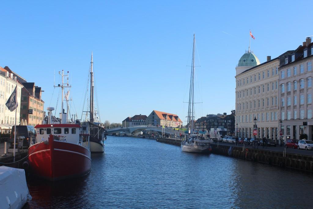 Udsigt fra Nyhavn mod Københavns Inderhavn