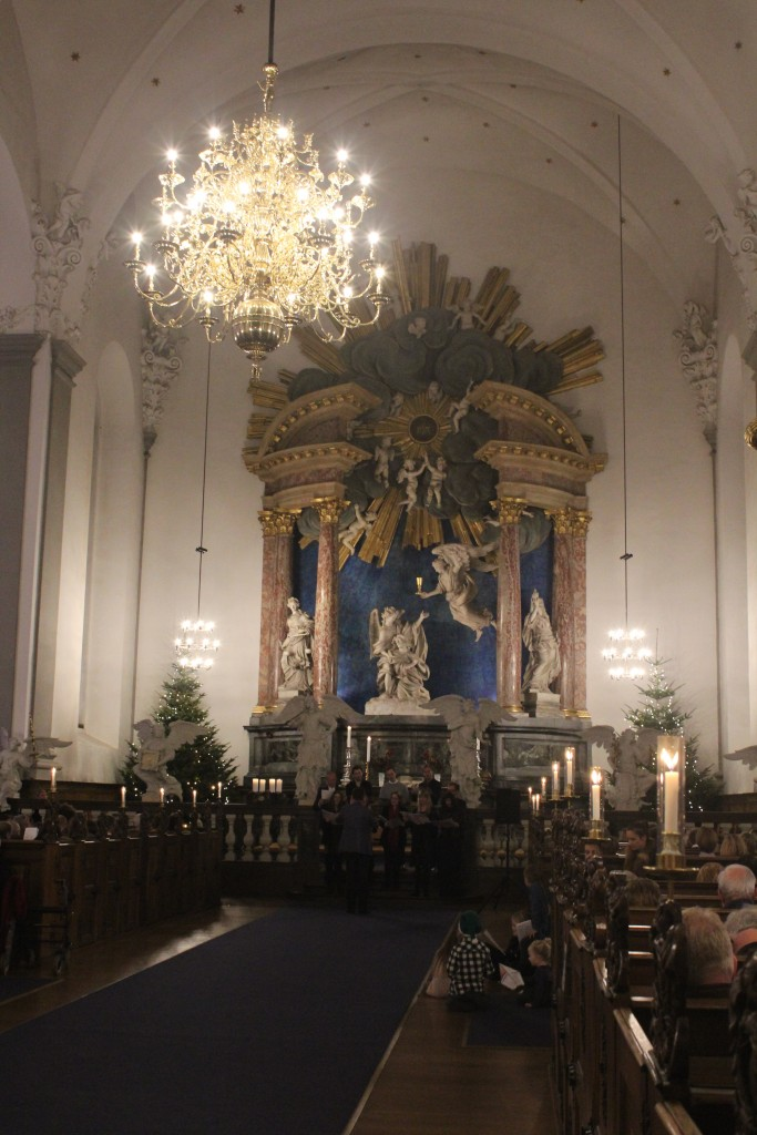 Our savor Church built 1682-96, Christianshavn. Photo 24 december 2017 by Erik K Abrahamsen.