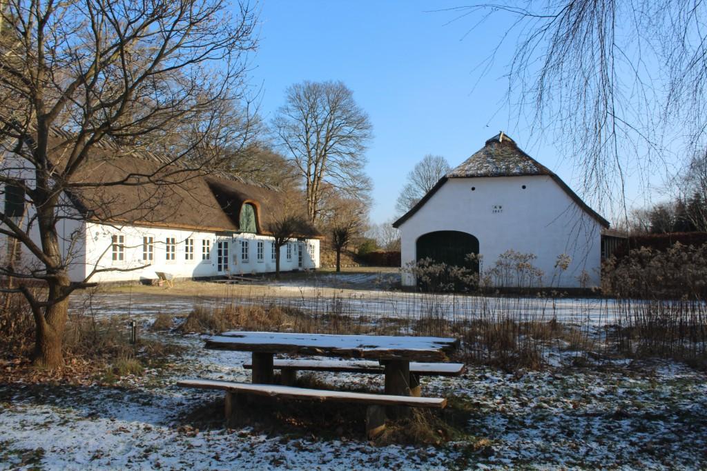 Arresødal Forest. Forest supervisor Building. Photo 9. february 2018 by erik K Abrahamsen.