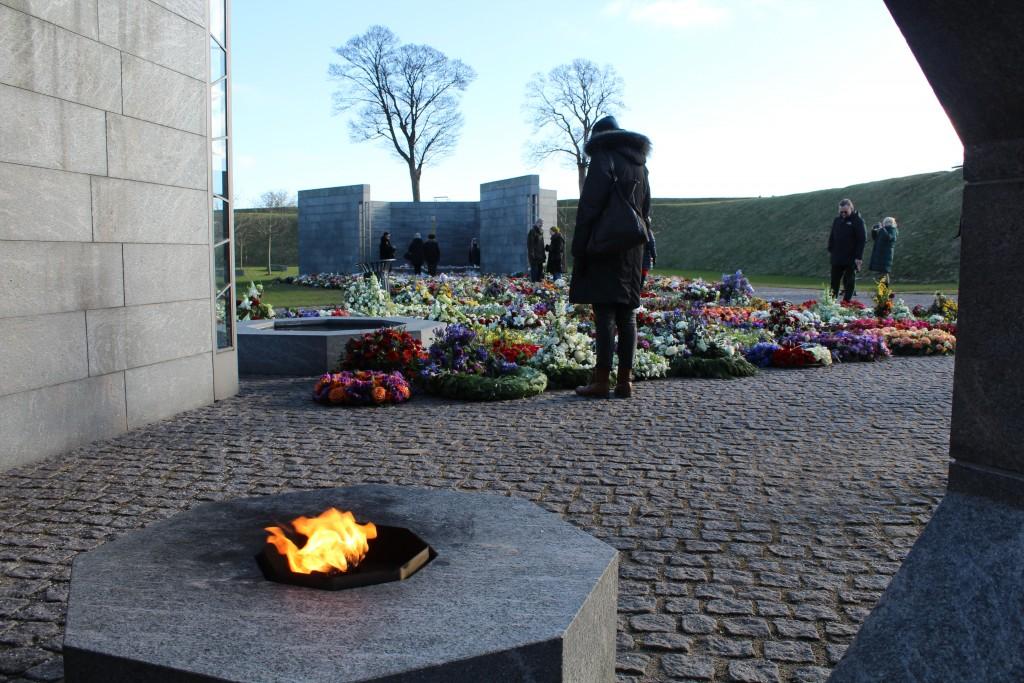 Det Nationale Monument for Danmarks internationale indsats siden 1948. Foto mod RUM Et Sted og RUM et Menneske.
