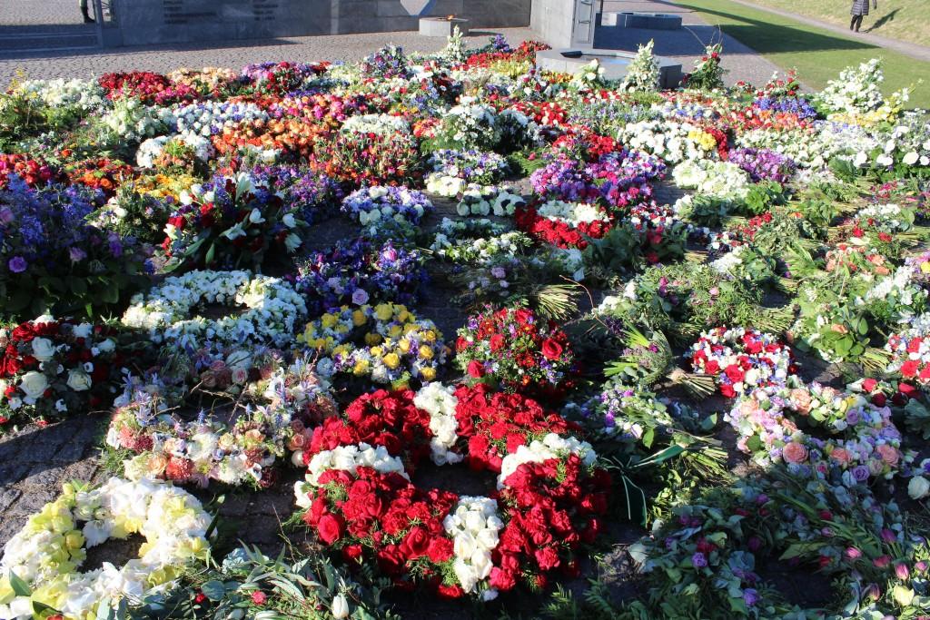 Det Nationale Monument i Kastellet. Foto den 22. februar 2+18 af Erik K Abrahamsen