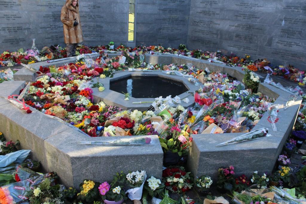 Det Nationale Monument i Kastellet. RUM: ET MENNESKE. Foto den 22. februar 2018