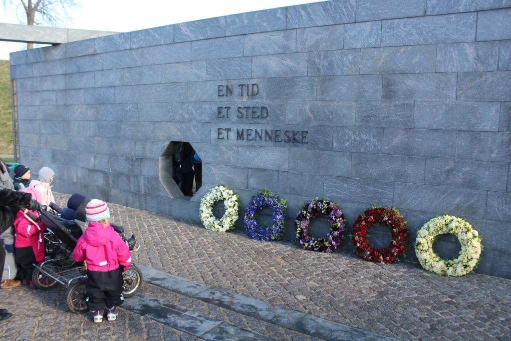 Det Nationale Monument i Kastellet.