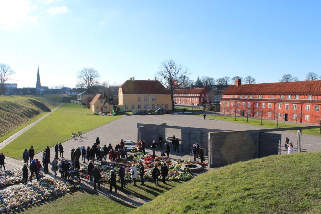 Det Natinale Monument i Kastellet. Foto den22. februar 2018 af Erik K Abrahamsen