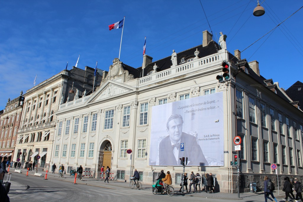 Kongens Nytorv. Thott Palace built by Admiral Niels Juel