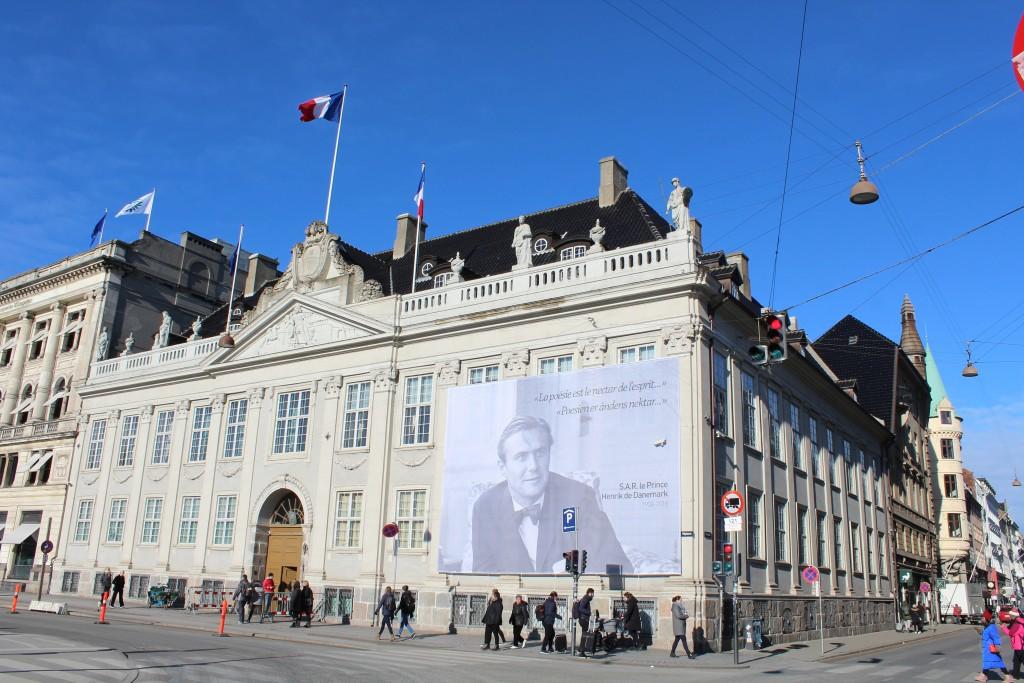 Den Franske Ambassade, Thott´s Palæ, Kongens Nytorv, Købernhavn. Foto den 22. februar 2018 af Erik K Abrahamsen.