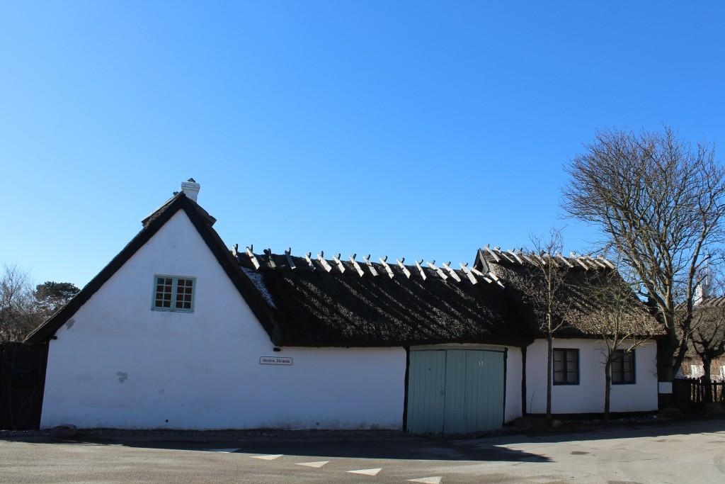 Kikhavn, Halsnæs. Bondegård ved Vesterstræde. Foto den 20. marts 2018 af Erik k Abrahamsen,