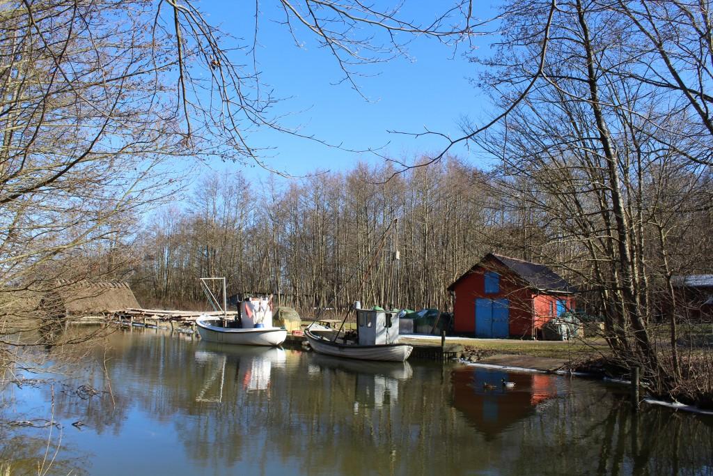Arrsødal Skov. Arresø Kanal udgravet 1717-19 for vandfosyningen til vandmøller