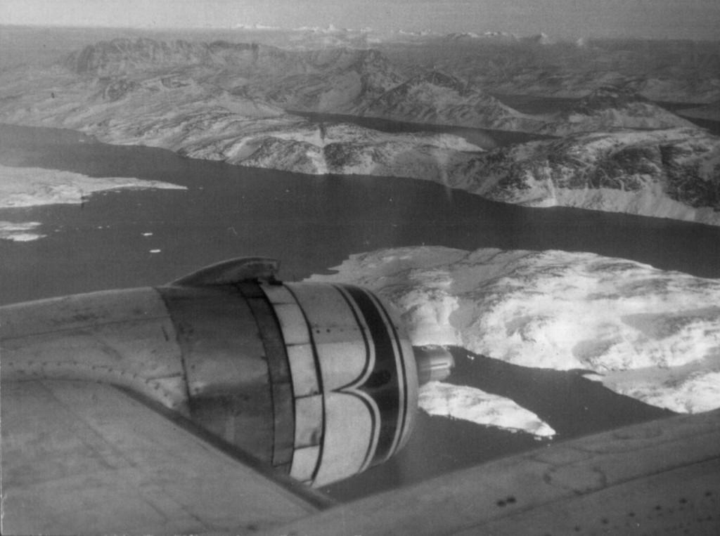 Indflyvning nær Narssarsyaq Air Base, Sydgrønland