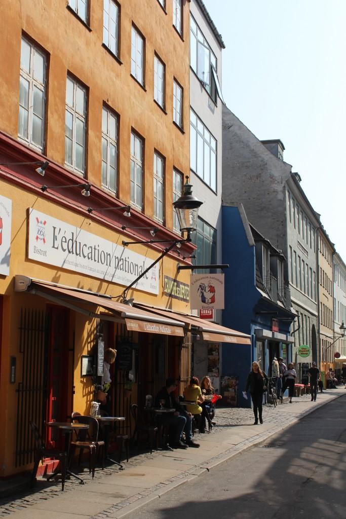 Latin Quarter. View to restaurant in Larsbjørnsstræde