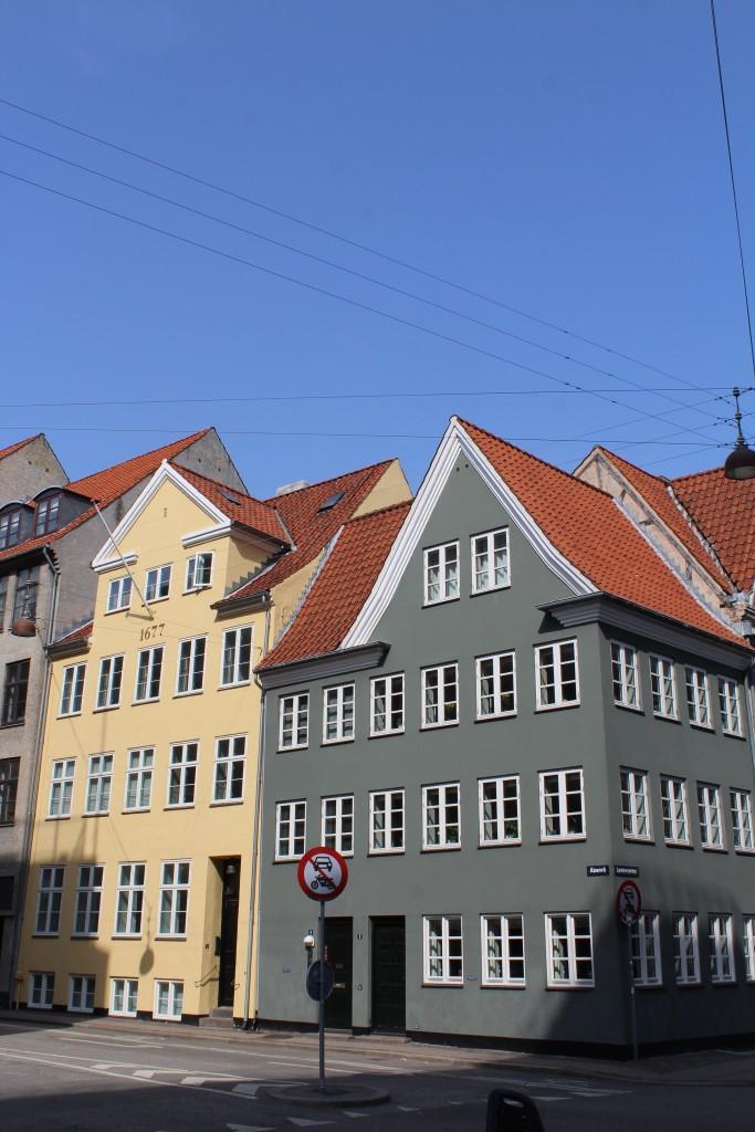 Corner of Landemærket and street Åbenrå. photo 9.aproil 2018 by Erik K Abrahamsen.