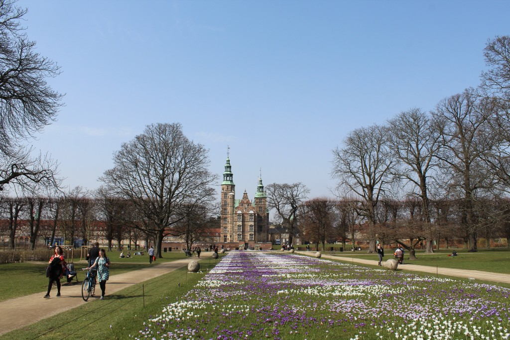 Rosenborg Castle. Photo 9. april 2018 by Erik k Abrahamsen.