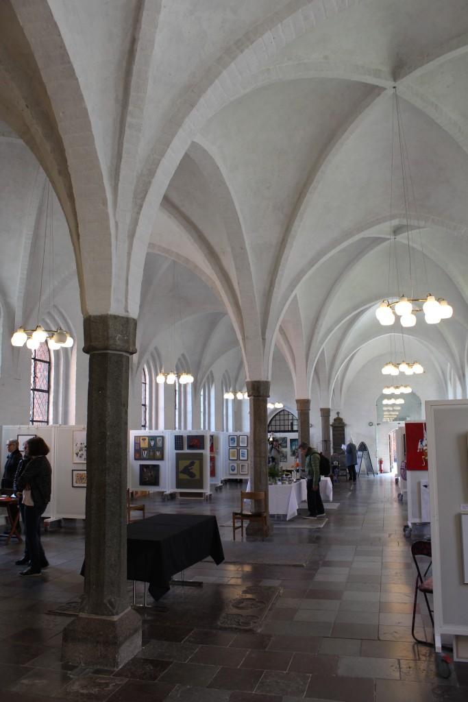 Helliåndshuset - House of Holy Spirit - a former hospital of Gråbrødre Monastery built 1296. Today exhibition hall. Photo 9. aptril 2018 by Erik K Abrahamsen