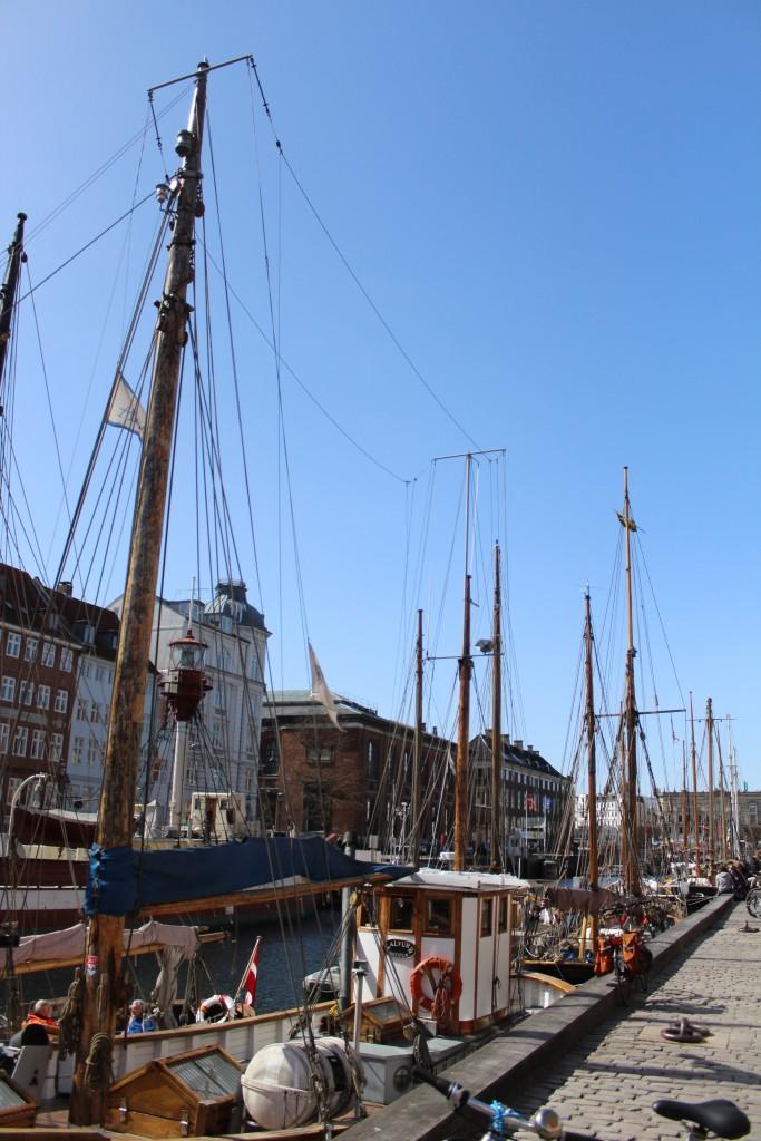 Nyhavn. Photo 11. april 2018 by erik K Abrahamsen.
