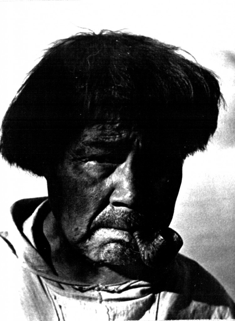 Indbygger i Arsuk. Foto 1961.