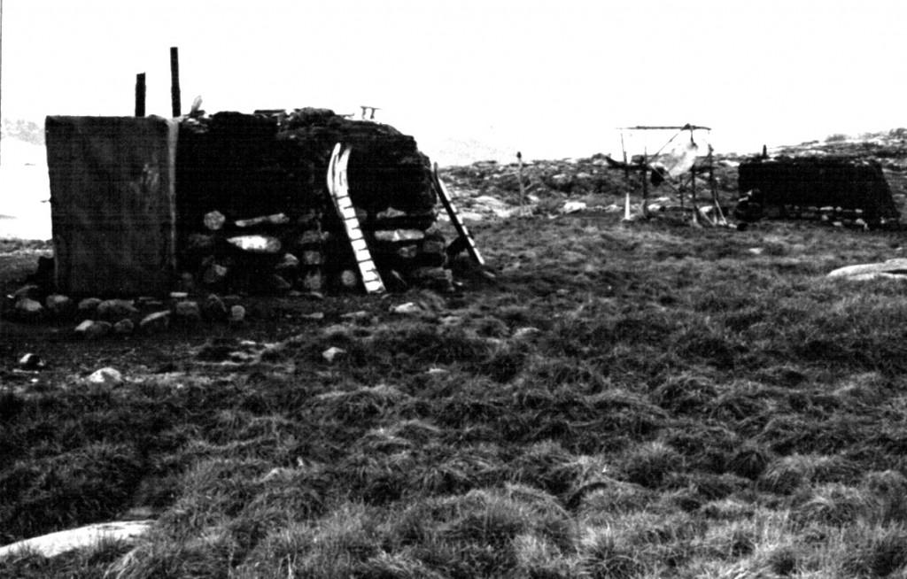 Bolig i Arsuk. Foto 1961.